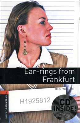 [NEW] Oxford Bookworms Library 2 Ear-rings from Frankfurt Pack (Book+CD) [영국식 발음]