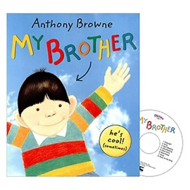 Pictory Step 1 My Brother  (Paperback+Audio CD)