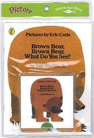 Pictory Pre-Schooler  Brown Bear, Brown Bear, What Do You See? (Book+Audio CD)