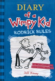 LB-Diary of a Wimpy Kid #2 : Rodrick Rules (Paperback)