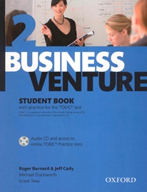 [NEW] Business Venture 2 Student's Book with Audio CD[3rd Edition]