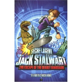 Secret Agent Jack Stalwart #1 The Escape of the Deadly Dinosaur USA (Book+CD)