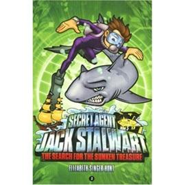Secret Agent Jack Stalwart #2 The Search for the Sunken Treasure Australia (Book+CD)