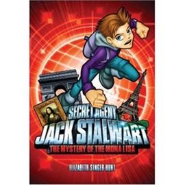 Secret Agent Jack Stalwart #3 The Mystery of the Mona LIsa France (Book+CD)