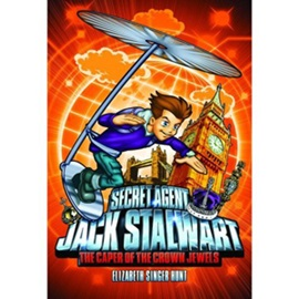Secret Agent Jack Stalwart #4 The Caper of the Crown Jewels England (Book+CD)