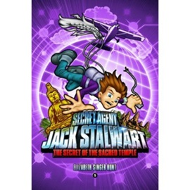 Secret Agent Jack Stalwart #5 The Secret of the Sacred Temple Cambodia (Book+CD)