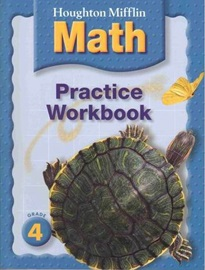 Houghton Mifflin Math Grade 4 Practice Book