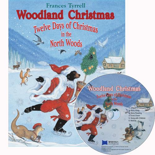 노부영 Woodland Christmas Twelve Days of Christmas in the North Woods (Book+CD)