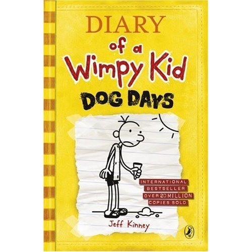 LB-Diary of a Wimpy Kid #4 : Dog Days (Paperback)
