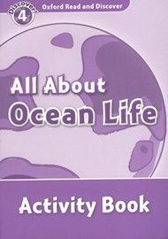 Oxford Read and Discover 4 All About Ocean Life Activity book