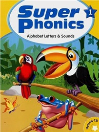 Super Phonics 1 Student Book with Hybrid CD (Alphabet & Sounds)  [2nd Edition]