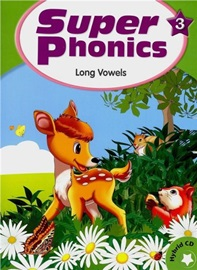 Super Phonics 3 Student Book with Hybird CD (Long Vowels)  [2nd Edition]