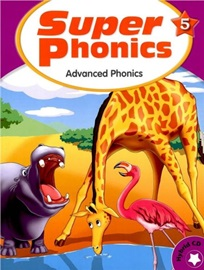 Super Phonics 5 Student Book with Hybrid CD (Advanced Phonics) [2nd Edition]