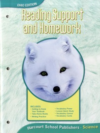 [행사]Harcourt Science OHIO Edition Grade 1 Reading Support & Homework