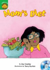 Sunshine Readers Level 4  Mom's Diet (Book+Audio CD)