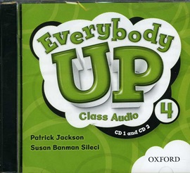 Everybody Up 4 Class Audio CD (2)