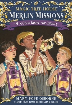 Merlin Mission #14:A Good Night for Ghosts (PB)