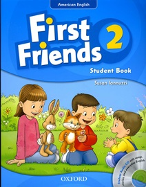 American First Friends 2 Student's Book with CD