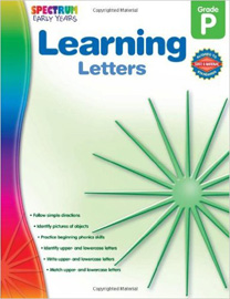 Spectrum Early Years Learning Letters Grade Preschool