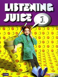 Listening Juice 1 Student's Book with MP3 CD and Hybrid CD [2nd Edition]