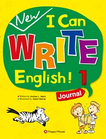 New I Can Write English! 1 Journal Student's Book with Work Book + Audio CD