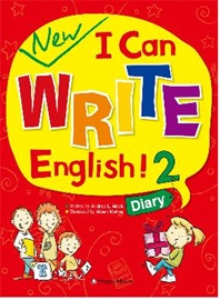 New I Can Write English! 2 Diary Student's Book with Work Book + Audio CD