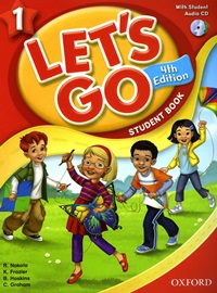 Let's Go 1 Student's Book With CD[4th Edition]