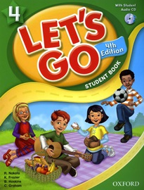 Let's Go 4 Student's book with CD [4th Edition]