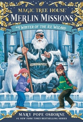 Merlin Mission #4:Winter of the Ice Wizard (PB)