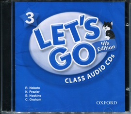 Let's Go 3 Audio CD [4th Edition]