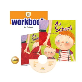 러닝캐슬 주니어 A-01-At School (Student's Book +Workbook +CD)