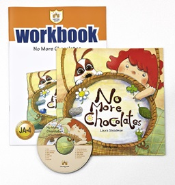 러닝캐슬 주니어 A-04-No More Chocolates (Student's Book +Workbook +CD)