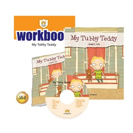 러닝캐슬 주니어 A-08-My Tubby Teddy (Student's Book +Workbook +CD)