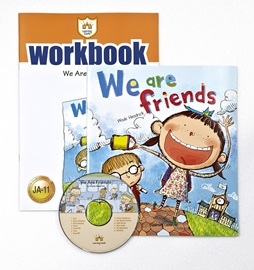 러닝캐슬 주니어 A-11-We are Friends (Student's Book +Workbook +CD)