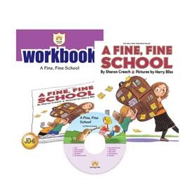 러닝캐슬 주니어 D-06-A Fine, Fine School (Student's Book +Workbook +CD)