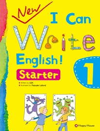 New I Can Write English! Starter 1 Student's Book with Work Book + Audio CD