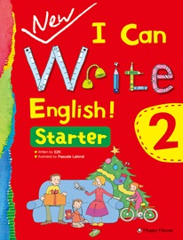 New I Can Write English! Starter 2 Student's Book with Work Book + Audio CD