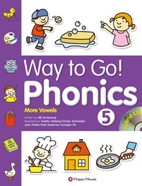 Way to Go! Phonics 5 Student's Book with Workbook + Hybrid CD (More Vowels)