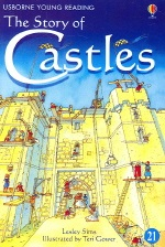 Usborne Young Reading 2-21 The Story of Castles (Book+ CD)