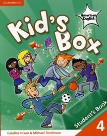 Kid's Box American English 4 Student's Book