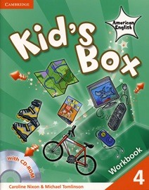 Kid's Box American English 4 Workbook with CD-Rom