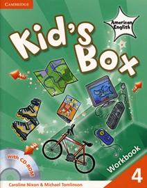 Kid's Box American English 4 Workbook with CD-Rom