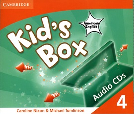Kid's Box American English 4 Audio CD