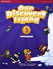 Our Discovery Island 5 Workbook with Audio CD