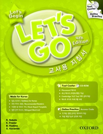 Let's Begin Korean Teacher's Book with Test center and Online Practice [4th Edition]