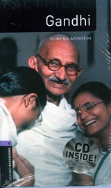 Oxford Bookworms Factfiles 4 Gandhi CD Pack