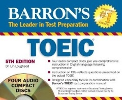 Barron's TOEIC Audio CD [5th Edition]