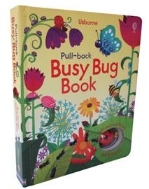 Usborne Pull-Back: Busy Bug (Hardcover)