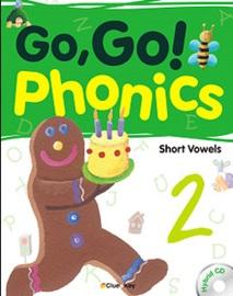 Go, Go! Phonics 2 Student's Book with Hybrid CD