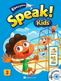 Everyone, Speak! Kids 3 Student's Book with Workbook + Hybrid CD